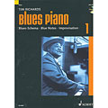 Instructional Book Schott Blues Piano Bd.1