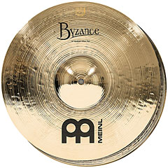 "Meinl Byzance Brilliant 14"" Medium HiHat « Cymbale Hi-Hat"