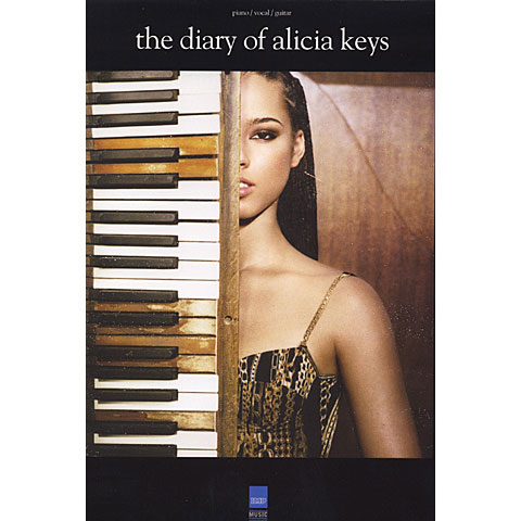 Alicia Keys Songbooks Alicia Keys Diary of Alicia Songbook