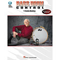 Instructional Book Hal Leonard Bass Drum Control