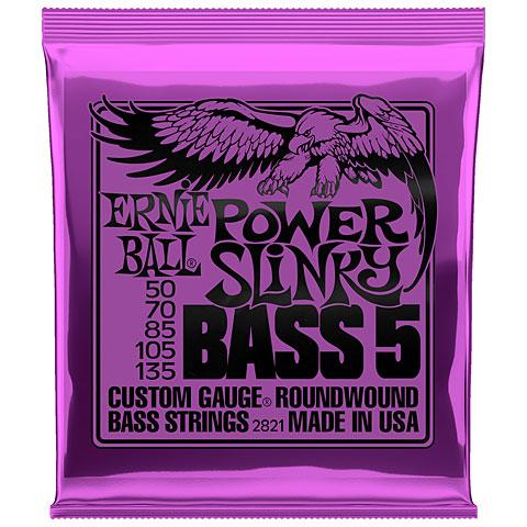 Cuerdas bajo eléctrico Ernie Ball Power Slinky Bass 5 2821 .050-135