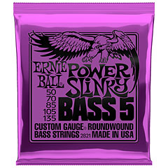 Ernie Ball Power Slinky Bass 5 2821 .050-135 « Electric Bass Strings