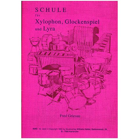 Lehrbuch Halter Schule für Xylophon, Glockenspiel und Lyra