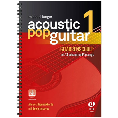 Dux Acoustic Pop Guitar Bd.1
