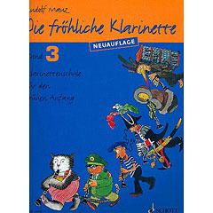 Schott Die fröhliche Klarinette Bd.3 « Manuel pédagogique