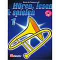 Leerboek De Haske Hören, Lesen&Spielen Bd. 1 für Posaune in C
