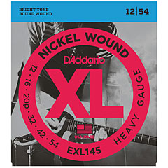 D'Addario EXL145 Nickel Wound .012-054 « Corde guitare électrique