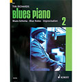 Manuel pédagogique Schott Blues Piano Bd.2