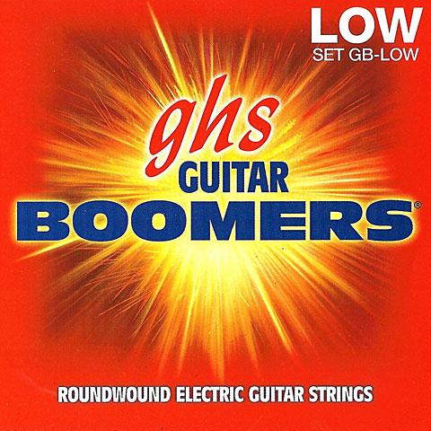 Cuerdas guitarra eléctr. GHS Boomers 011-053 GB-LOW