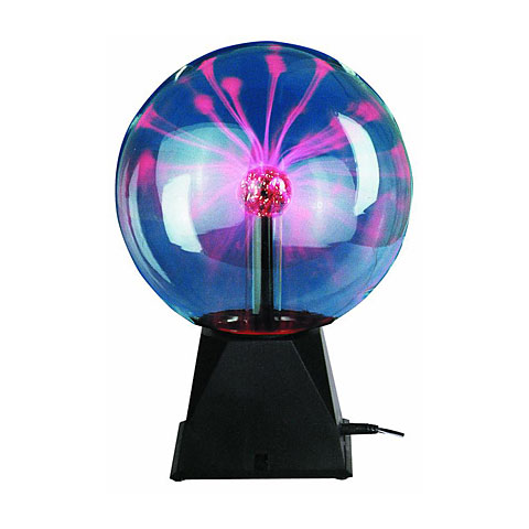Lámpara decorativa Eurolite Plasma Ball 20cm sound CLASSIC