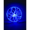 Lampada decorativa Eurolite Scheibe, 30cm blau (2)