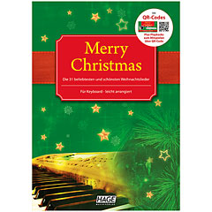 Hage Merry Christmas für Keyboard « Bladmuziek