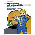 Recueil de Partitions Schott Querflöte spielen - mein schönstes Hobby Spielbuch 2