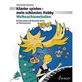 Notenbuch Schott Klavierspielen - mein schönstes Hobby Weihnachtsmelodien