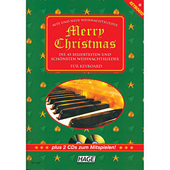 Hage Merry Christmas für Keyboard « Libro de partituras