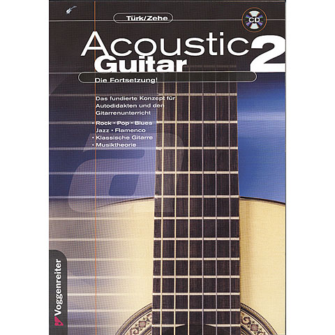 Manuel pédagogique Voggenreiter Acoustic Guitar 2
