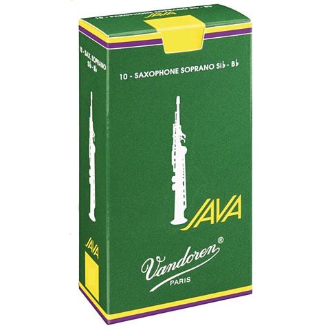 Cañas Vandoren Java Soprano Sax 2,5