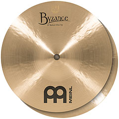 "Meinl Byzance Traditional 10"" Medium HiHat « Cymbale Hi-Hat"