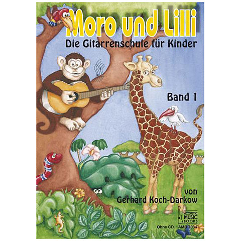 Lehrbuch Acoustic Music Books Moro und Lilli Bd.1 (ohne CD)