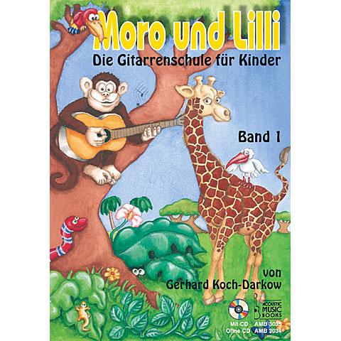 Lehrbuch Acoustic Music Books Moro und Lilli Bd.1 + CD