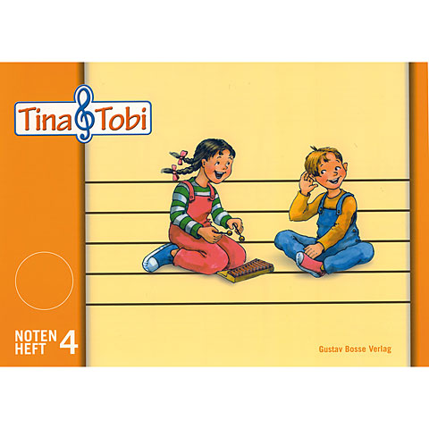 Education musicale enfant Bärenreiter Tina & Tobi Notenheft 4