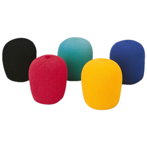 Monacor WS-5 Microphone Windshields Set 5 Pcs.