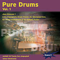 CD Tunesday Pure Drums Vol.1 - Jazz Grooves 1, Audio Cds