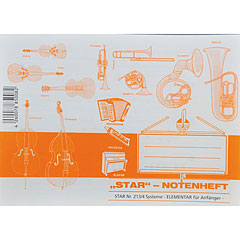 Star Notenheft 213