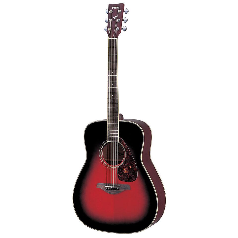 Yamaha Fg S Acoustic Guitar Dusk Sun Red