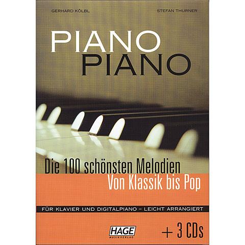 Hage Piano Piano 1+ 3 CDs