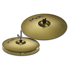Paiste 101 Brass Essential 14/18 Becken-Set « Pack de cymbales