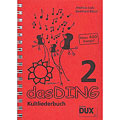 Βιβλίο τραγουδιών Dux Das Ding 2 - Kultliederbuch