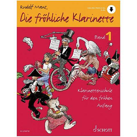 Schott Die fröhliche Klarinette Bd.1 inkl. CD