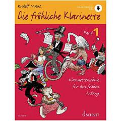 Schott Die fröhliche Klarinette Bd.1 inkl. CD « Manuel pédagogique