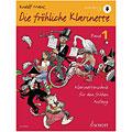 Manuel pédagogique Schott Die fröhliche Klarinette Bd.1 inkl. CD