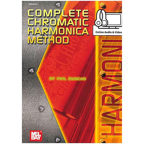 Libros didácticos MelBay Complete Chromatic Harmonica