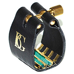 BG Super Revelation Ligature L13SR 24k gold plated metal plate « Ajuste cañas