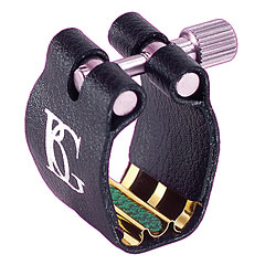 BG Super Revelation Ligature L4SR 24k gold plated metal plate « Ajuste cañas