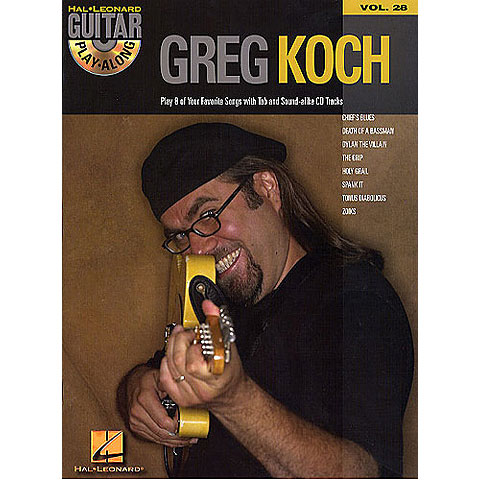 Hal Leonard Guitar Play-Along Vol.28 - Greg Koch