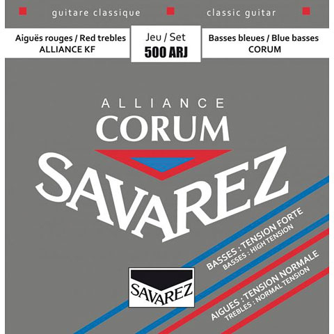 Cuerdas guit. clásica Savarez Alliance Corum 500ARJ