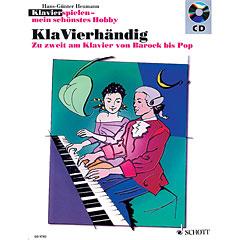 Schott Klavierspielen - mein schönstes Hobby KlaVierhändig « Bladmuziek