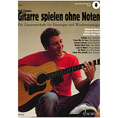 Schott Gitarre spielen ohne Noten « Lehrbuch