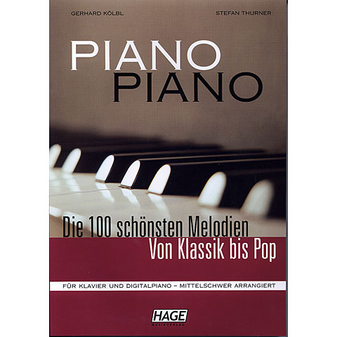 Hage Piano Piano 1 (Mittelschwer)