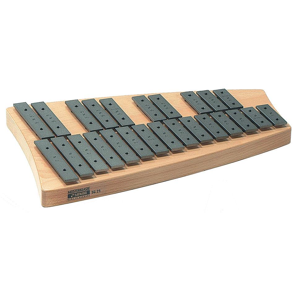 Orffscheinstrumente - Sonor Meisterklasse SG25 Sopran 25 Töne Glockenspiel - Onlineshop Musik Produktiv