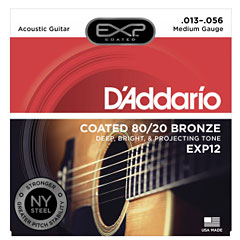 D'Addario EXP12 .013-056 « Cuerdas guitarra acúst.