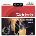 Cuerdas guitarra acúst. D'Addario EXP12 .013-056