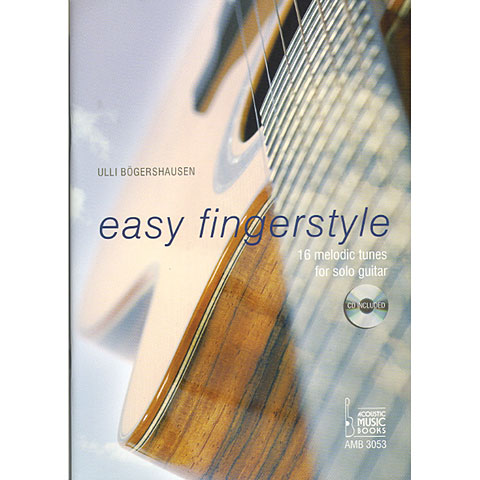 Libros didácticos Acoustic Music Books Easy Fingerstyle