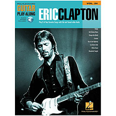 Hal Leonard Guitar Play-Along Vol.24 - Eric Clapton « Play-Along