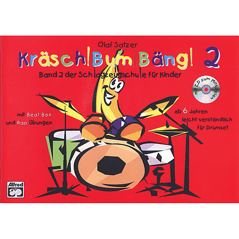 Libros didácticos Alfred KDM Kräsch! Bum! Bäng! Bd.2