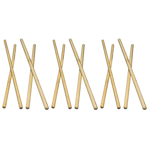 Baquetas para timbal Latin Percussion LP248C Timbale Sticks Hickory